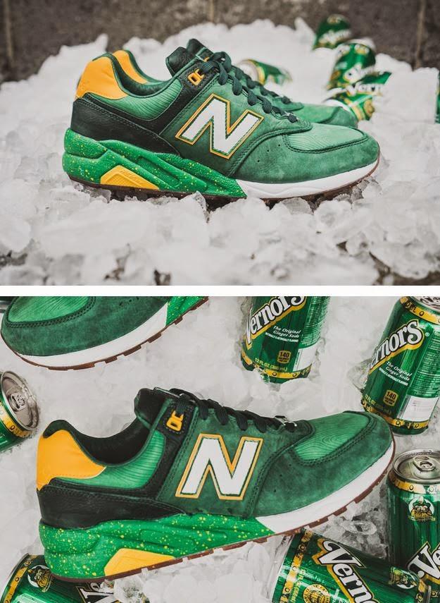 sombras de comprando ahora grandes variedades THE SNEAKER ADDICT: Burn Rubber x New Balance 572 Vernors Sneaker ...