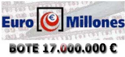 euromillones del viernes 3 de febrero de 2017