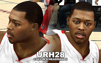 NBA 2K13 Kyle Lowry Cyberface Mods
