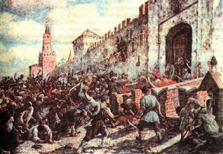 Asalto al palacio de Justiniano I - revuelta de Niká