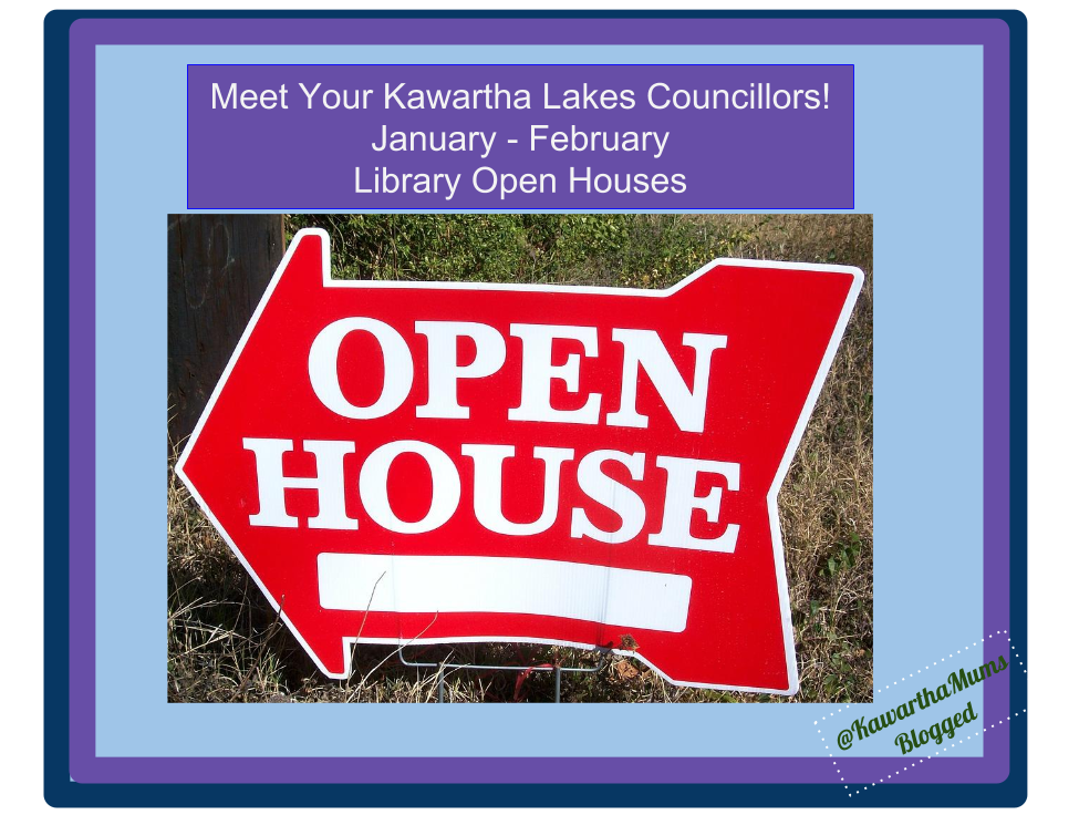 image Kawartha Lakes Events January- February Open Houses Kawartha Lakes Libraries Host Political Open Houses