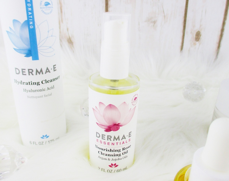 My Favorite Drugstore Winter Complexion Care for Dry and Mature Skin from Derma-E Nourishing Rose Cleansing Oil