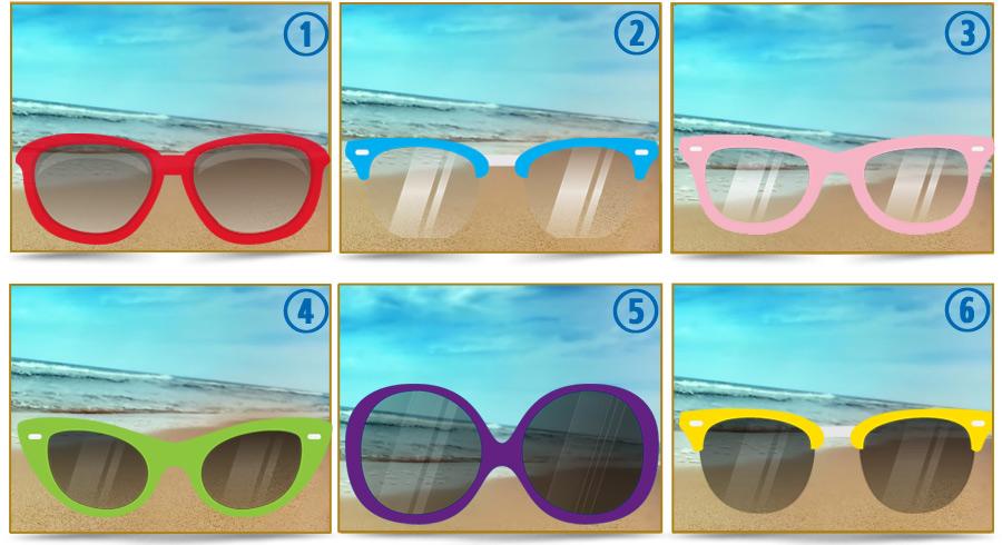 Descubre qué revela de tu personalidad  tus lentes de sol