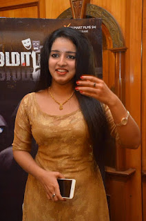 Actress Malavika Menon Stills At Nijama Nizhala Movie Audio Launch  0001.jpg