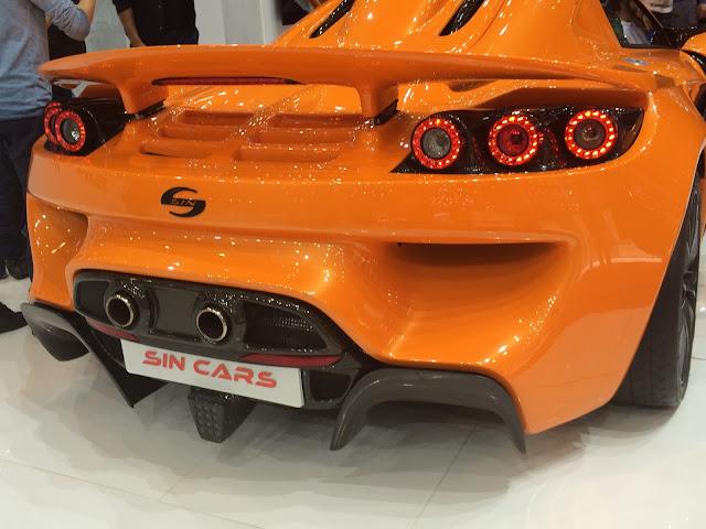 SIN R1 par Sin Cars