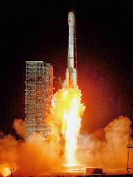 Lanzamiento de un satélite