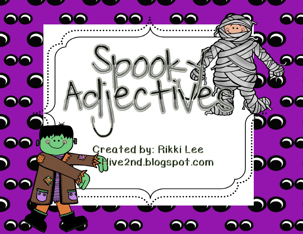Halloween Language Arts Activities 4th Grade