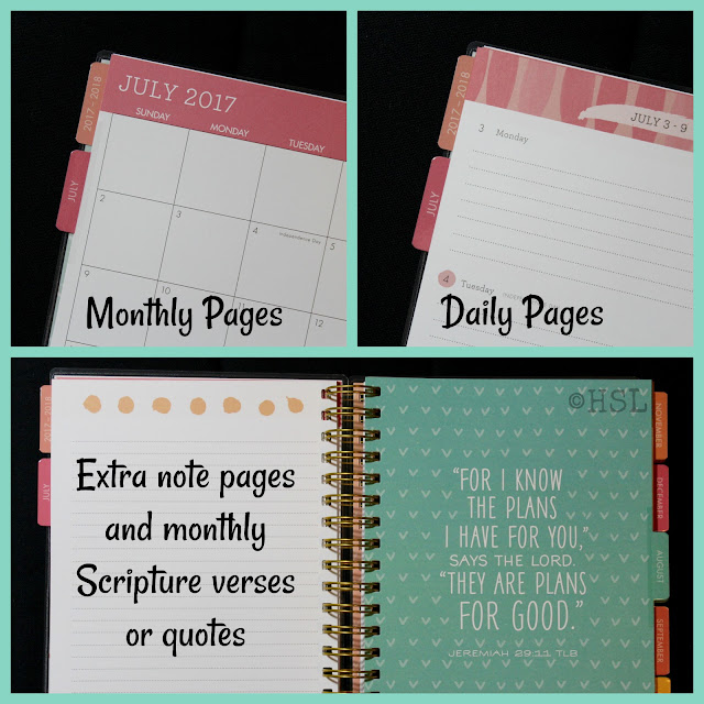 2018 DaySpring Agenda Planner, planners for moms, pretty planners