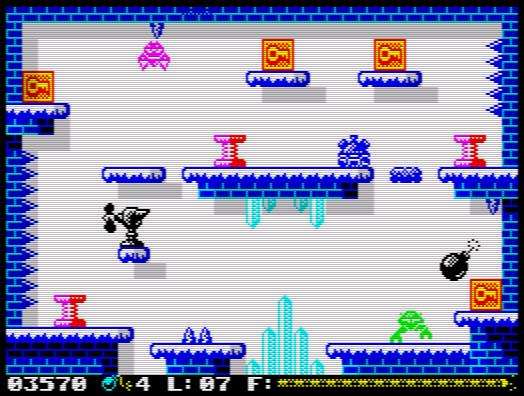 RGCD: Bouncing Bomb: Redux (ZX Spectrum)