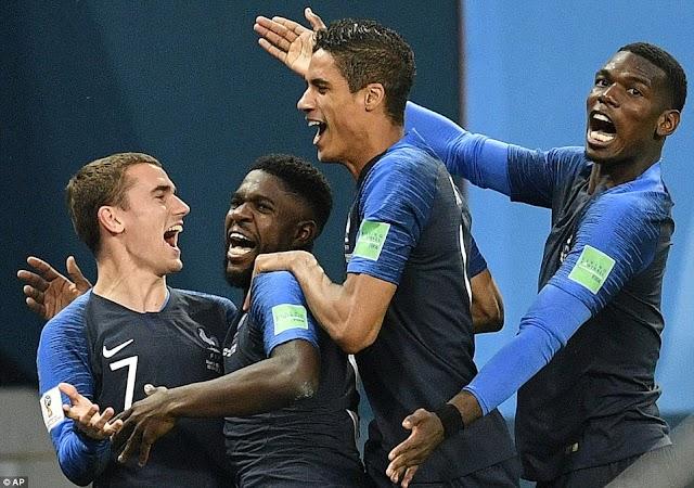 Γαλλία για κούπα,Γαλλία- Βέλγιο 1-0