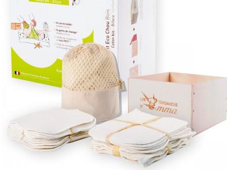 [Concours] À gagner un kit de lingettes lavables Eco Chou pour vos doudous !