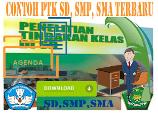 Download Dokumen Contoh PTK SD, SMP, SMA Lengkap