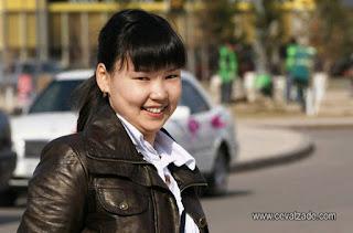 Genç Portre Astana Kazakistan