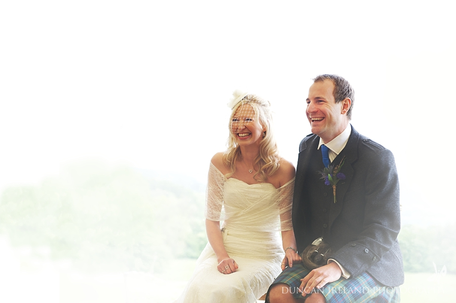 Aberfeldy Marquee Wedding