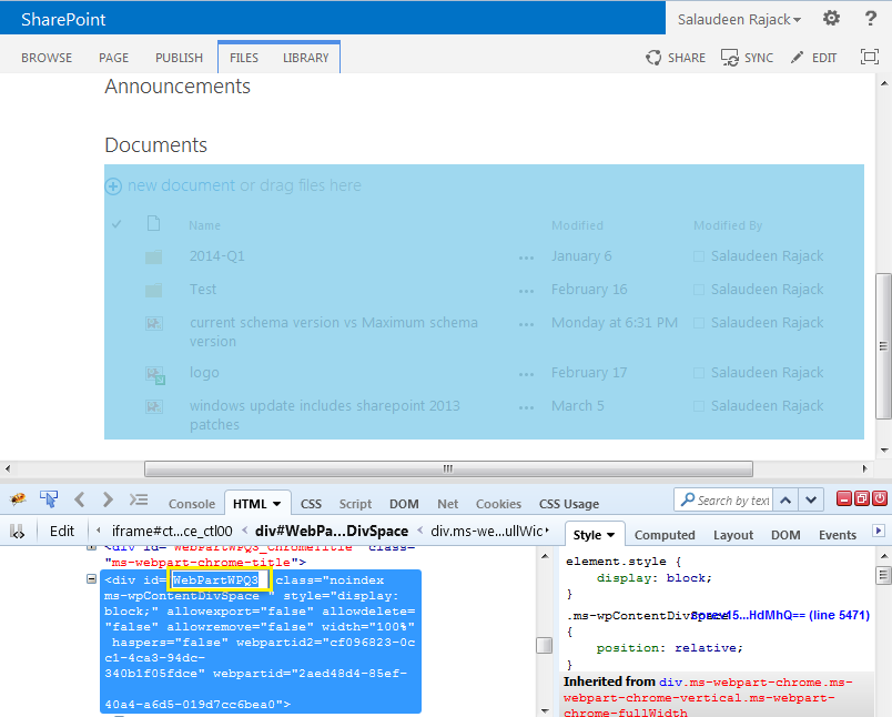 expand collapse webparts in sharepoint 2010