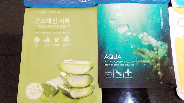 Monthly Project; The Ultimate Mask Sheet Review Part 1; Nature Republic