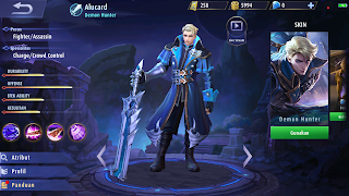 Hero Alucard (Fighter/Assasin)
