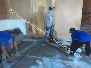 kontraktor perkuatan lantai beton