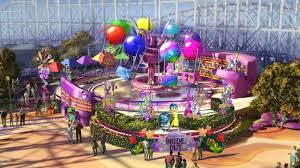 Inside Out Emotional Whirlwind ride concept art