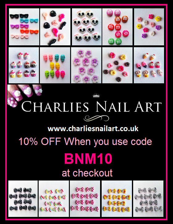 Charlies Nail Art 10% Discount Code