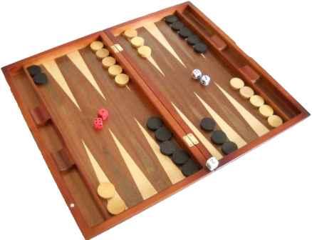 Antiguos Juegos Mesa Backgammon