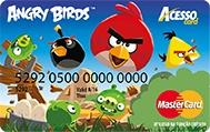 Cartão Angry Birds Acesso Card Turma