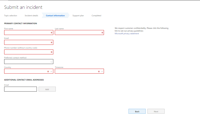 D365 Support Ticket Using LCS - Finance and Operations Community