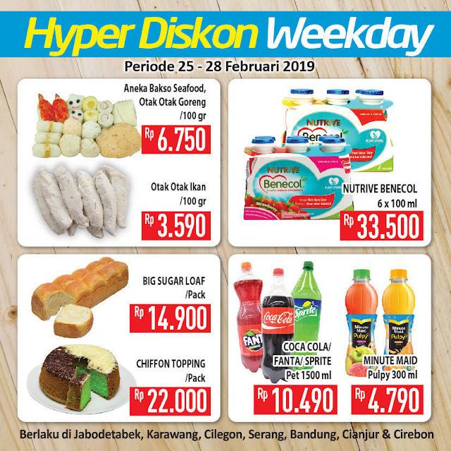 #Hypermart - #Promo #Katalog Weekly Periode 25 - 28 Februari 2019