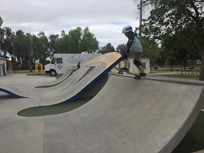 ziggy skateboarding Planz Park Bakersfield CA