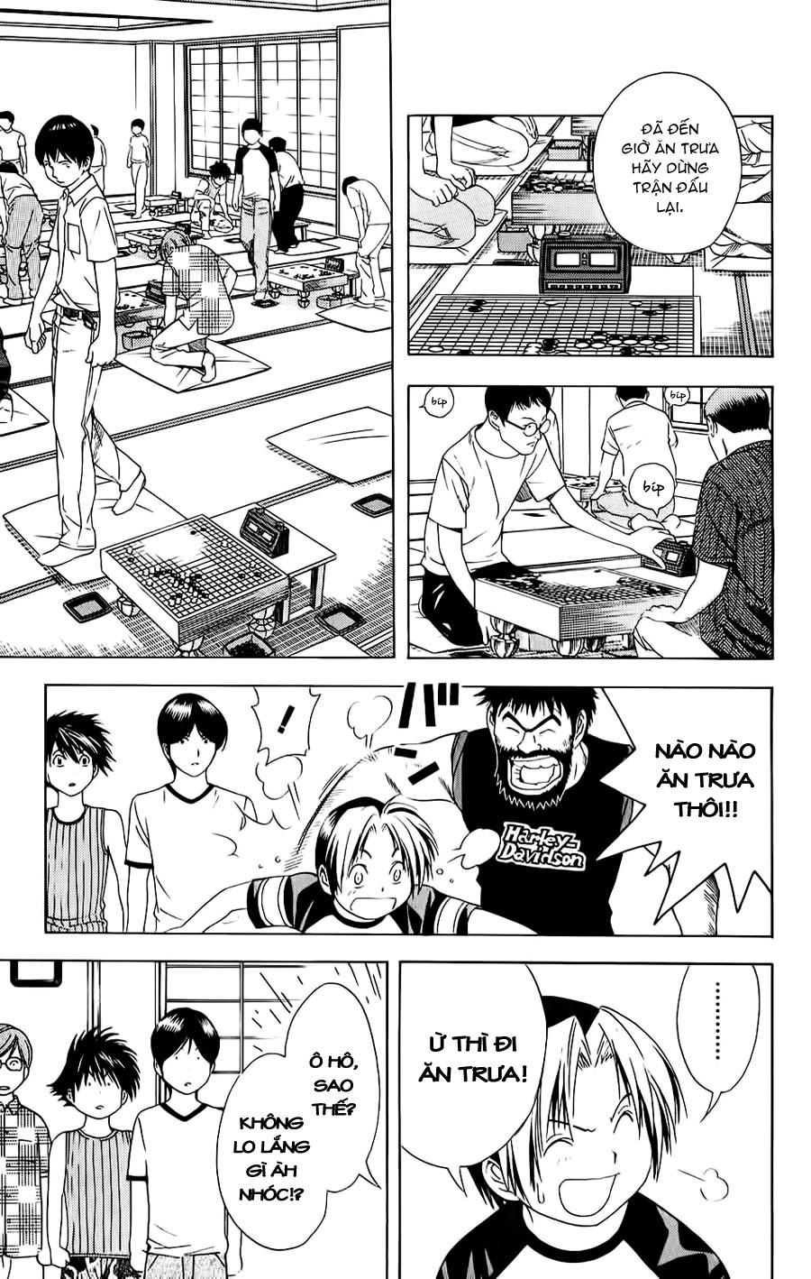 Hikaru No Go hikaru no go chap 77 trang 20