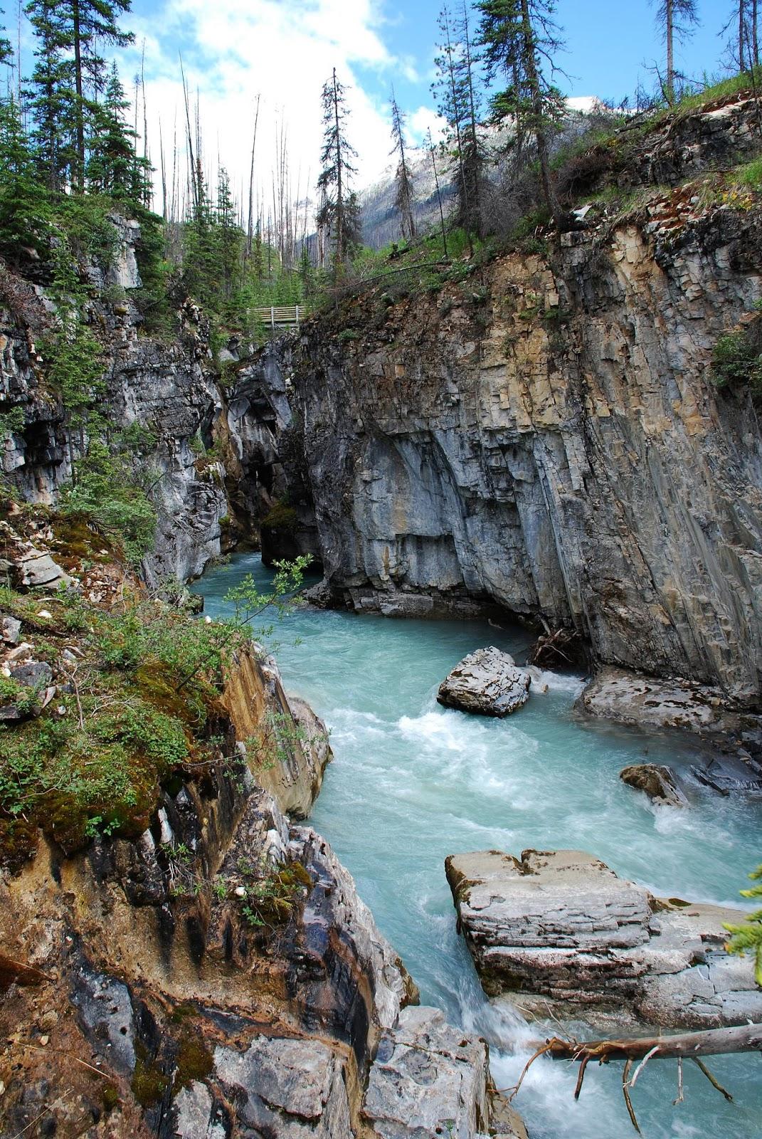 Numa Falls Wallpaper Kootenay National Park Canada Natural Creations