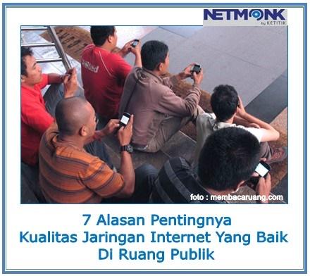 jaringan internet di ruang publik