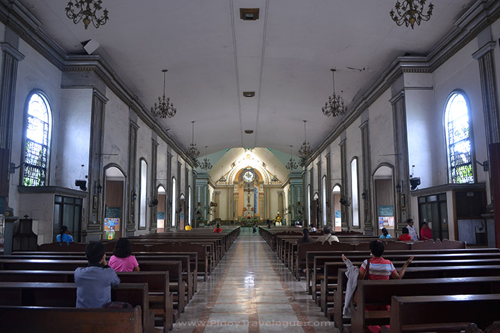 Interiors of Dumaguete Cathedral