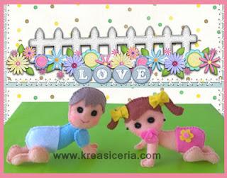 Cara Membuat Boneka Bayi Lucu dari Kain Flanel