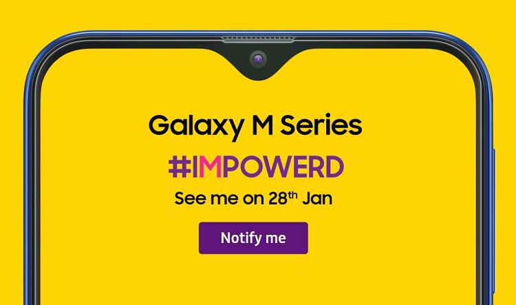 Samsung Teases Galaxy M Series