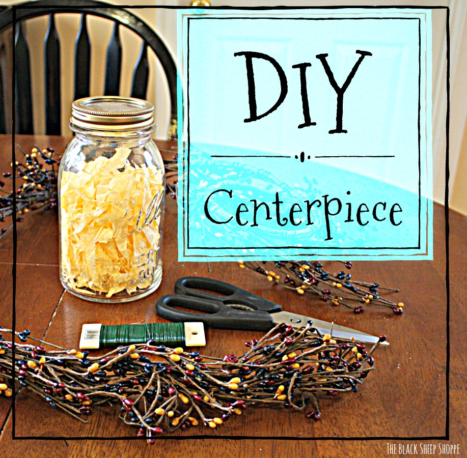 Easy DIY centerpiece for your table.