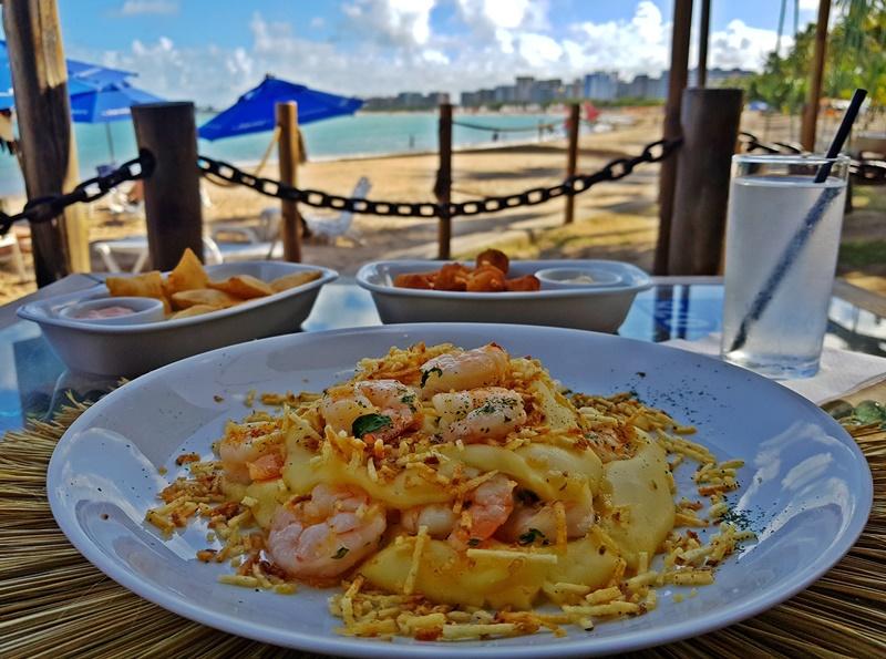 Onde comer em Maceió, melhor barraca de praia