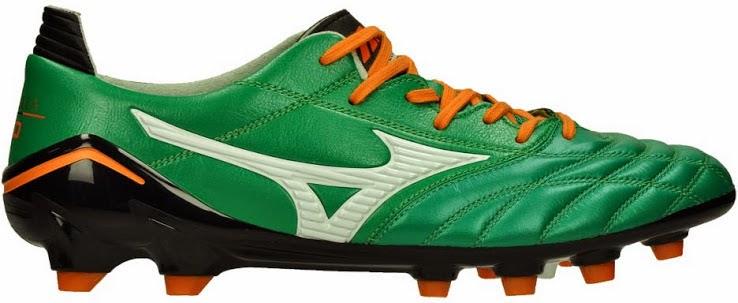 save off 55c80 ea474 New Green Mizuno Morelia Neo II Boot | FOOTY FAIR