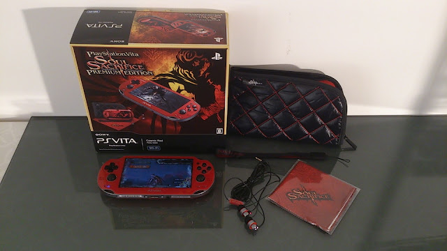 Photos du contenu du bundle de la PS VITA - Soul Sacrifice (édition premium)