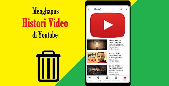 Cara Menghapus Histori Tontonan Youtube di Android