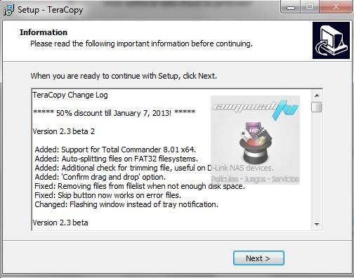 TeraCopy Pro 2.3 Español Programa para Copiar Archivos mas Rapido
