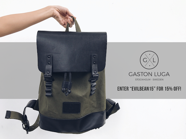 Gaston Luga Backpack Promo Code - evilbean15