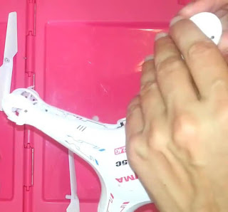 Cara Mengganti Motor Drone Syma X5C Yang Rusak - GudangDrone