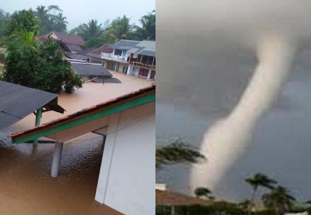 Bencana Hari Ini! 5 Kali Gempa, Banjir Bandang Di Tasikmalaya Sampai Puting Beliung Di Batam