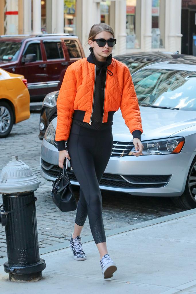 A Week in Gigi Hadid's Street Style Wardrobe