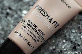 Review: 13 essence Update Produkte - Fresh & Fit Awake Primer - www.annitschkasblog.de