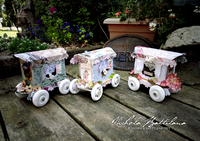 Paper caravans for very small gypsy - Nichola Battilana