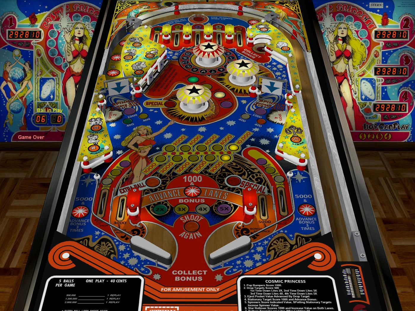 Visual pinball table downloads