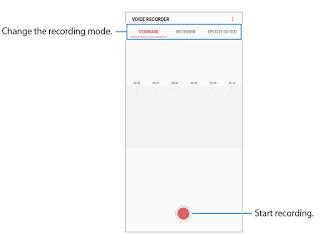 Samsung Voice Recorder S8