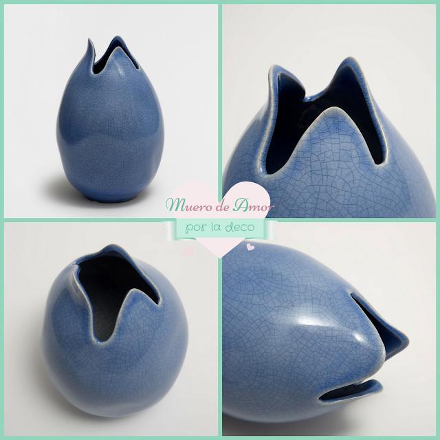 Jarrones Azules para Decorar tu Casa-Zara Home-By Ana Oval-4